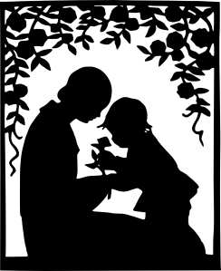 mother_and_child_silhouette_black_white_line_art_coloring_book_colouring-1331px